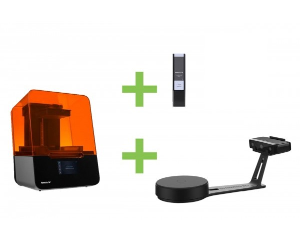 DEAL: Formlabs Form 3 Basic Wholesale Package plus Shining EinScan-SE 3D-Scanner