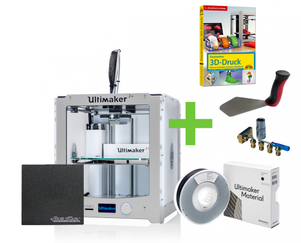 DEAL: Ultimaker 2+ 3D-Drucker STARTER KIT