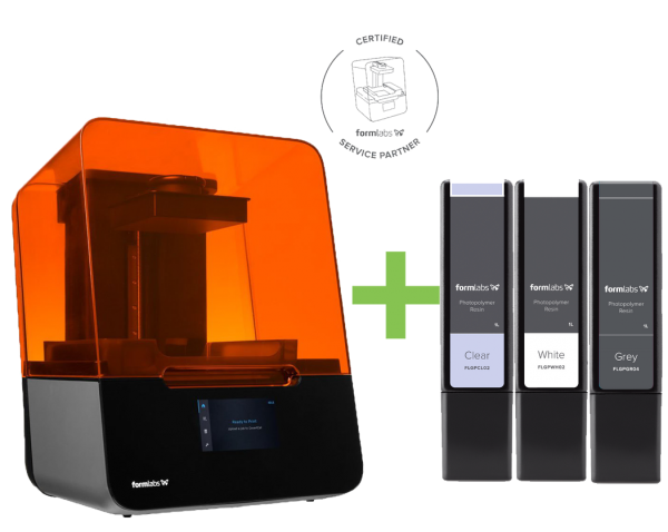 DEAL: Formlabs Form 3 Desktop LFS 3D-Drucker Basispaket inklusive 3 Resin