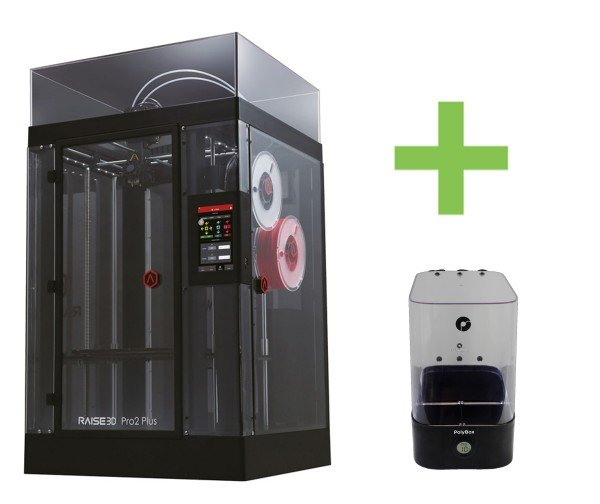 DEAL: Raise3D Pro2 Plus 3D-Drucker inklusive Polybox (Trockenbox)