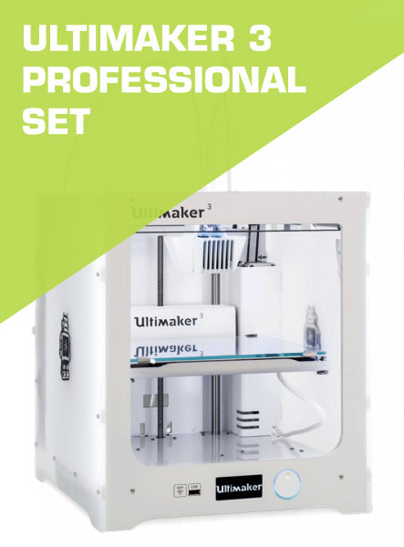 Ultimaker 3 PROFESSIONAL SET
