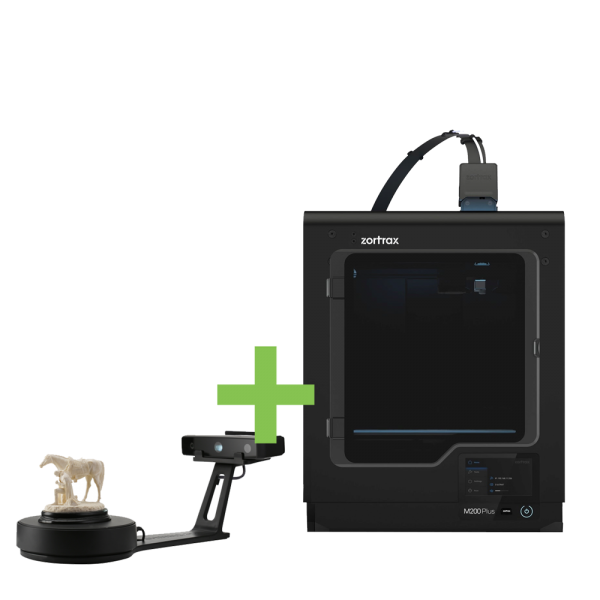 DEAL: Zortrax M200 Plus 3D-Drucker plus Shining 3D EinScan-SE