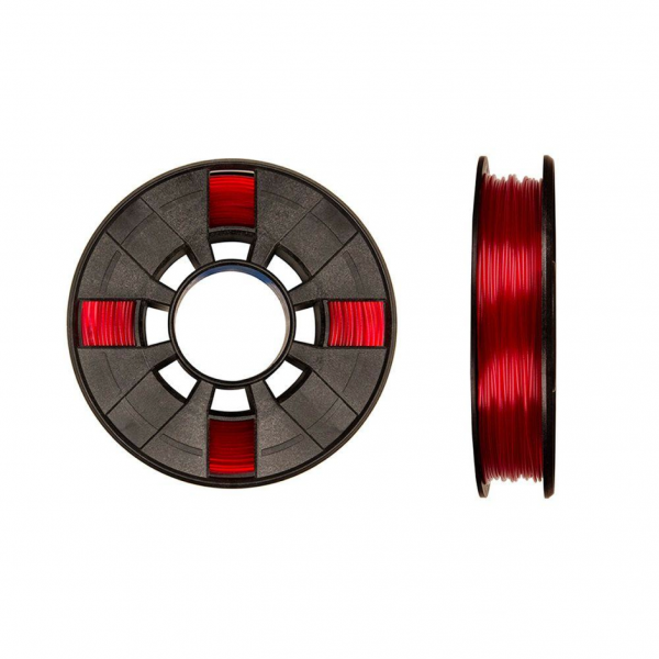 MakerBot Small PLA Transluzent Rot (red) 1,75mm 220g Premium Filament (MP05763)