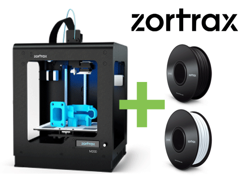DEAL: Zortrax M200 3D-Drucker inkl. 2 FILAMENTEN - Black Week