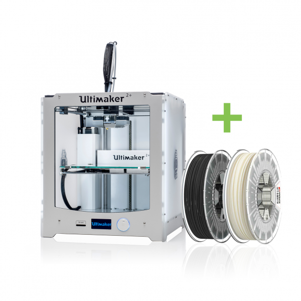 EDUCATION ANGEBOT - Ultimaker 2+ (PLUS) 3D-Drucker mit FILAMENTEN