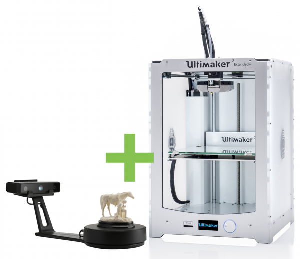 DEAL: Ultimaker 2 Extended+ plus Shining EinScan-SE 3D-Scanner