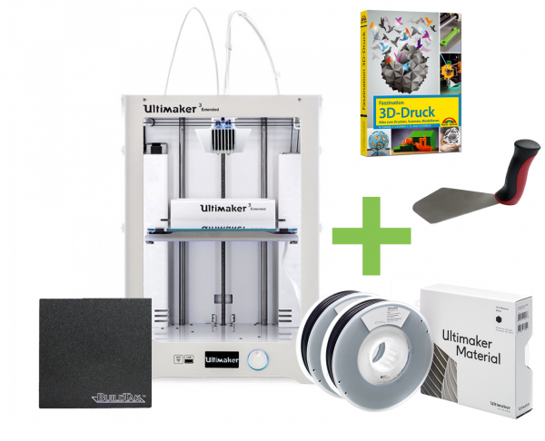 DEAL: Ultimaker 3 Extended Dual Extruder STARTER KIT