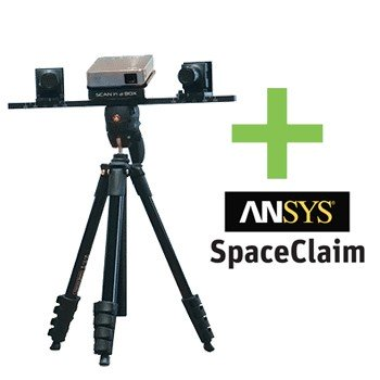 EDUCATION ANGEBOT - Scan in a Box Structured Light 3D-Scanner inkl. Spaceclaim Software