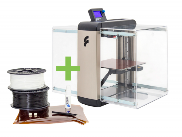 Felix Pro 2 Dual Extruder 3D-Drucker - EDUCATION BUNDLE