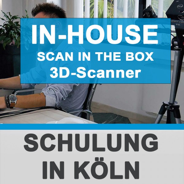 Individuelle Scan in a Box FX 3D-Scanner SCHULUNG - IN-HOUSE 3Dmensionals Köln