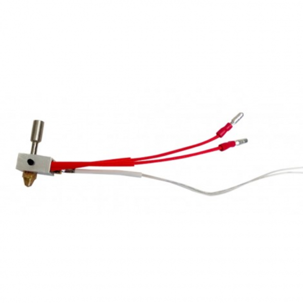 Leapfrog Extruder / Hot End inkl. Thermistor für Creatr oder Creatr XL (Links)