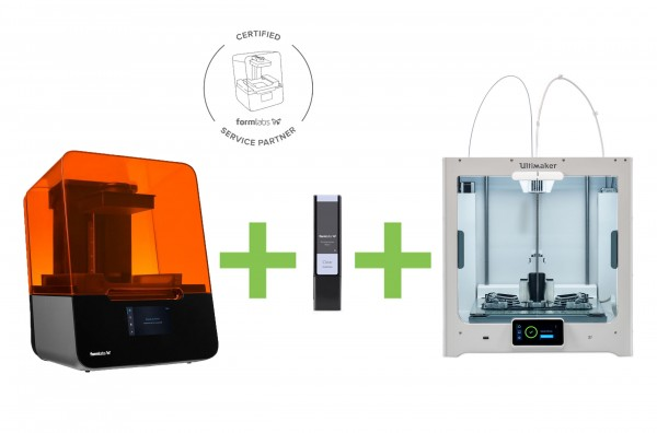 DEAL: Formlabs Form 3 Basic Wholesale Package plus Ultimaker S5 3D-Drucker