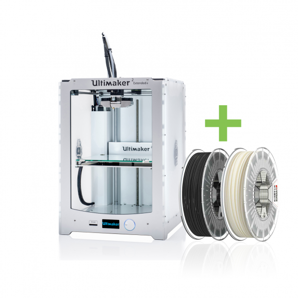 DEAL: Ultimaker 2 Extended+ (PLUS) 3D-Drucker inkl. FILAMENTEN