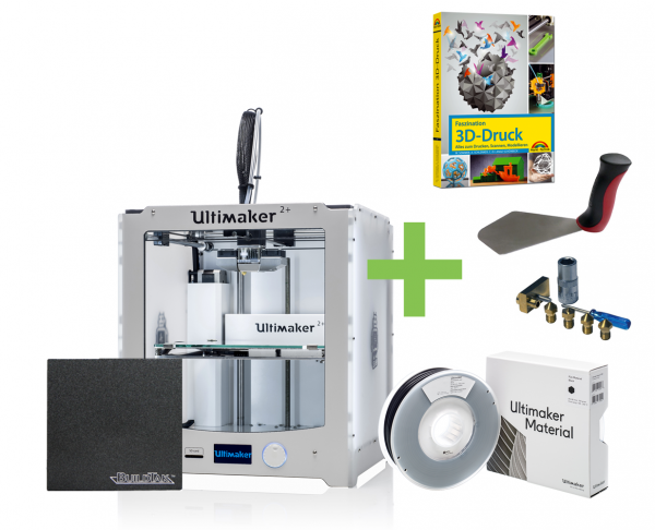 ultimaker 2 plus starter kit 3d drucker kaufen 3dmensionals. Black Bedroom Furniture Sets. Home Design Ideas