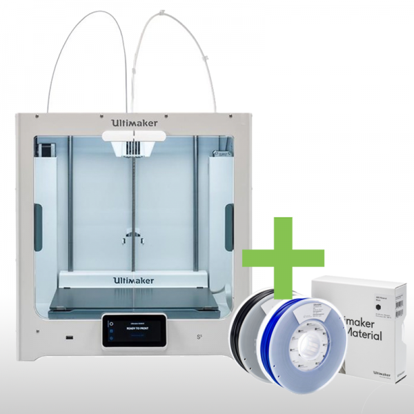 EDUCATION ANGEBOT - Ultimaker S5 3D-Drucker inklusive FILAMENTEN