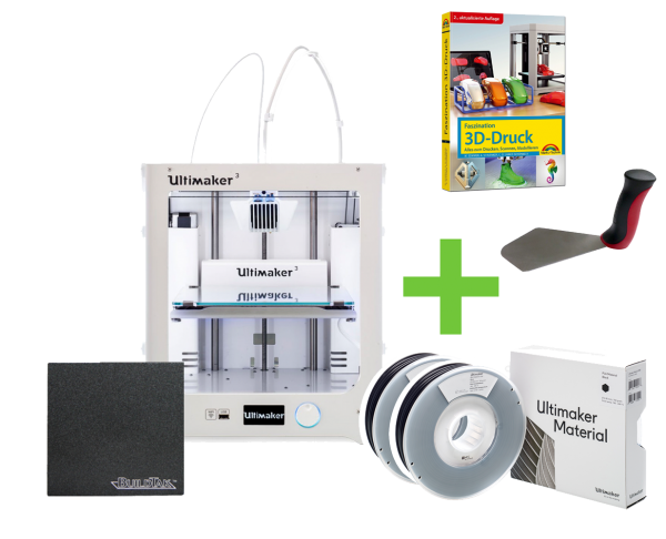 DEAL: Ultimaker 3 Dual Extruder STARTER KIT
