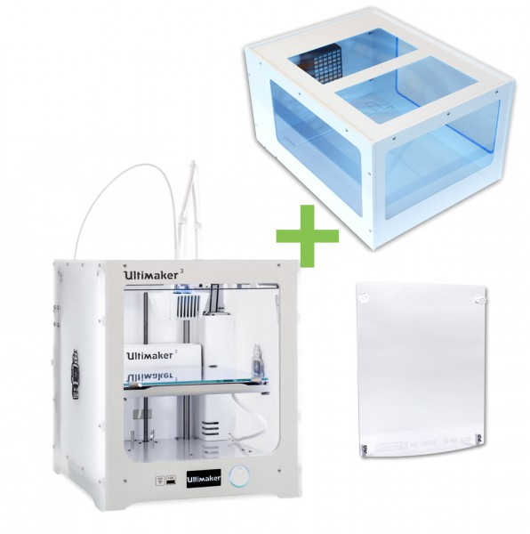DEAL: Ultimaker 3 inklusive Ultitop 3 Cover mit HEPA Filter plus Fronttür