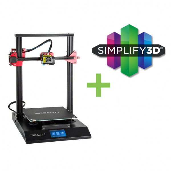DEAL: Creality3D CR-10S Pro 3D-Drucker Bausatz inklusive Simplify3D Software