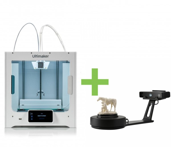 DEAL: Ultimaker S3 3D-Drucker plus Shining 3D EinScan-SE 3D-Scanner